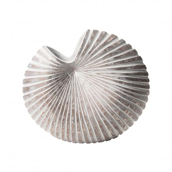 Fossil-DekoVase-Weiss-16x35x31-per