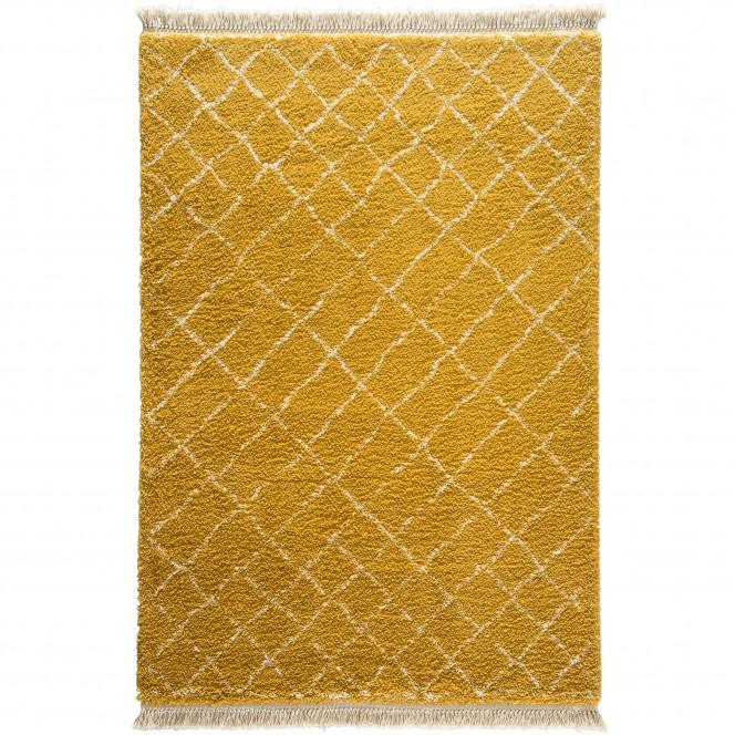 Fez-Designerteppich-gelb-Gold-160x230-pla