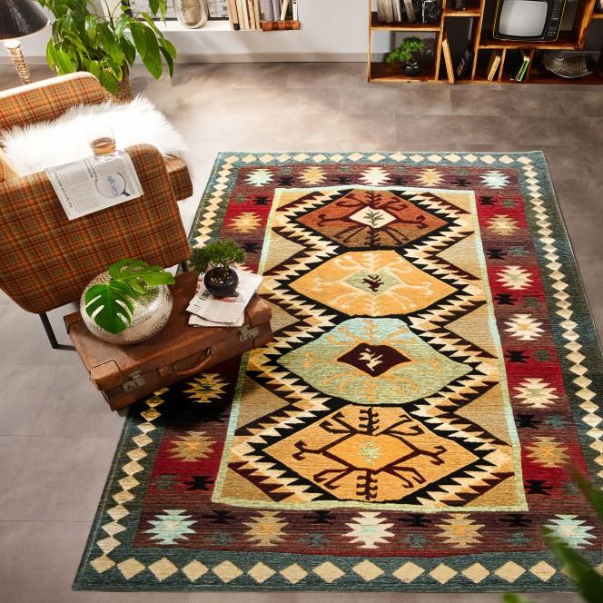 Loma-Designerteppich-mehrfarbig-Multicolor-160x235-mil