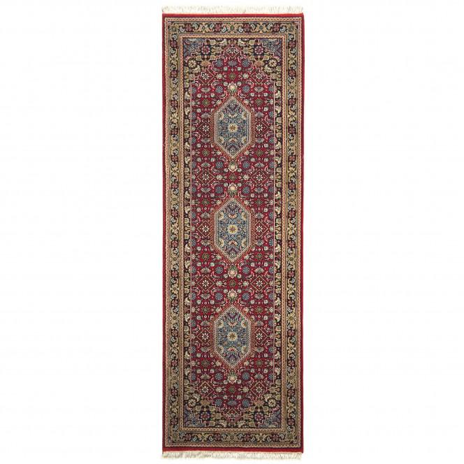RawaraBidjar-Orientteppich-Rot-Red-80x250-pla