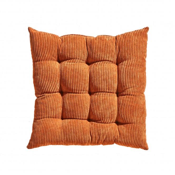 Kalle-Sitzkissen-orange-Cognac-44x44-pla