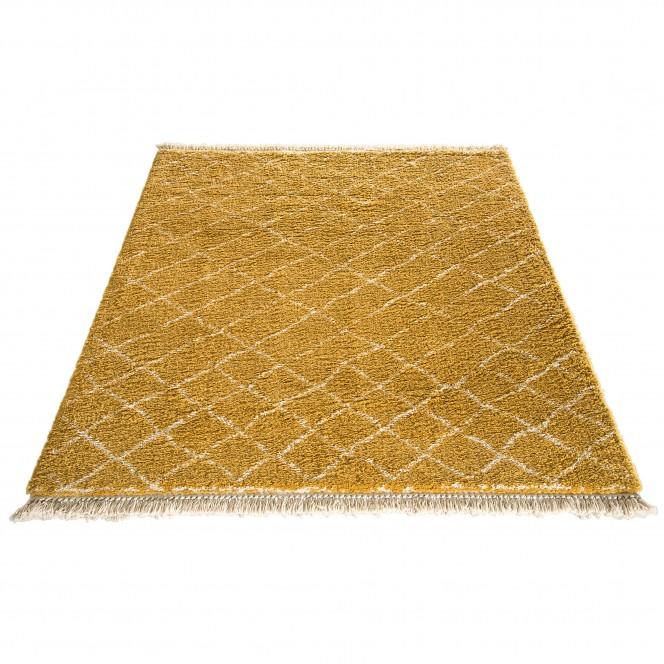 Fez-Designerteppich-gelb-Gold-160x230-fper