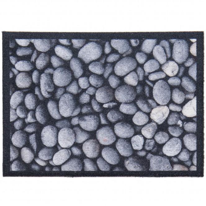 Pebbles-Sauberlaufmatte-Grau-Kiesel-50x70-pla