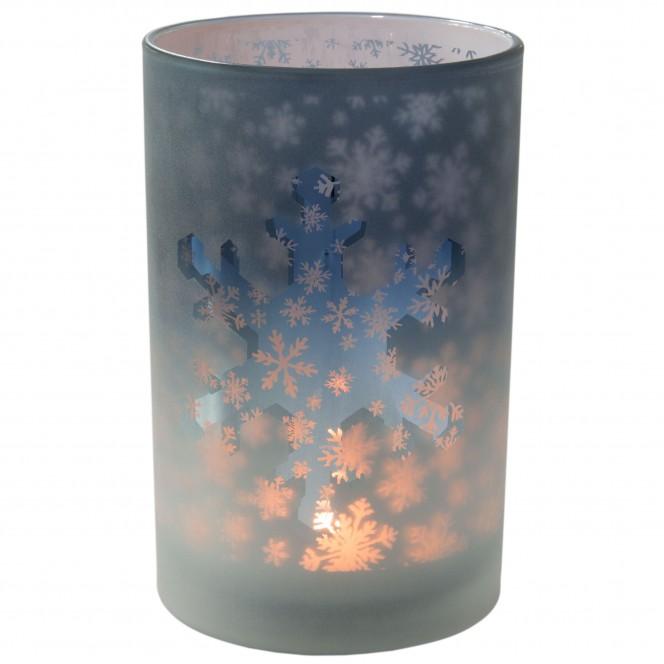 Lilly-Teelichthalter-Blau-12x12x18-per2