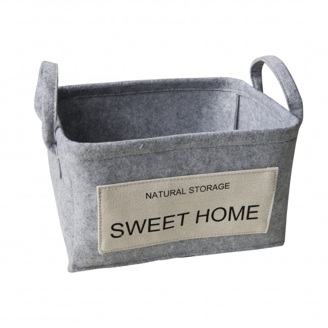 SweetHome-Korb-Hellgrau-24x32x18-per
