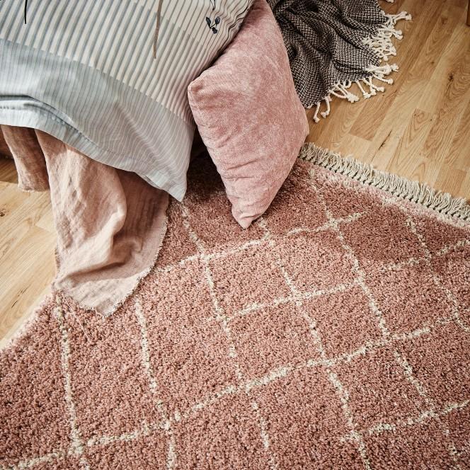 Fez-Designerteppich-rosa-Rose-160x230-mil2