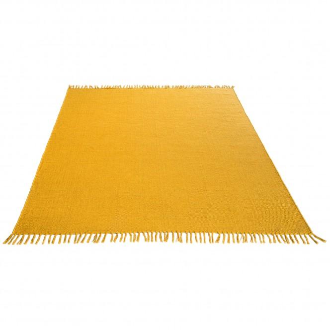 Summerweave-Handwebteppich-gelb-Sonnengelb-170x240-fper