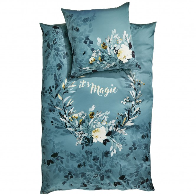 MagicalFlowers-Bettwaesche-Blau-Petrol-135x200-pla