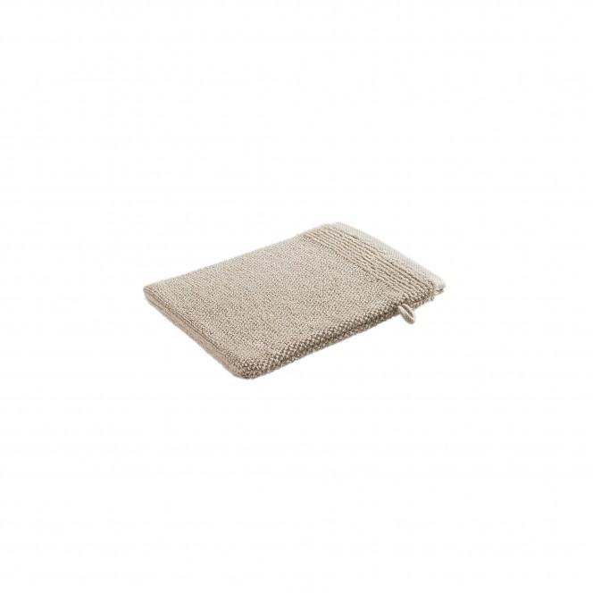 SantaCruz-Waschhandschuh-beige-Taupe-16x22-per