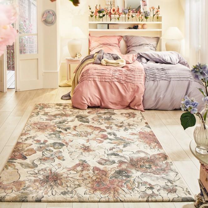 LeBouquet-DesignerTeppich-beige-Multicolor-160x230-mil