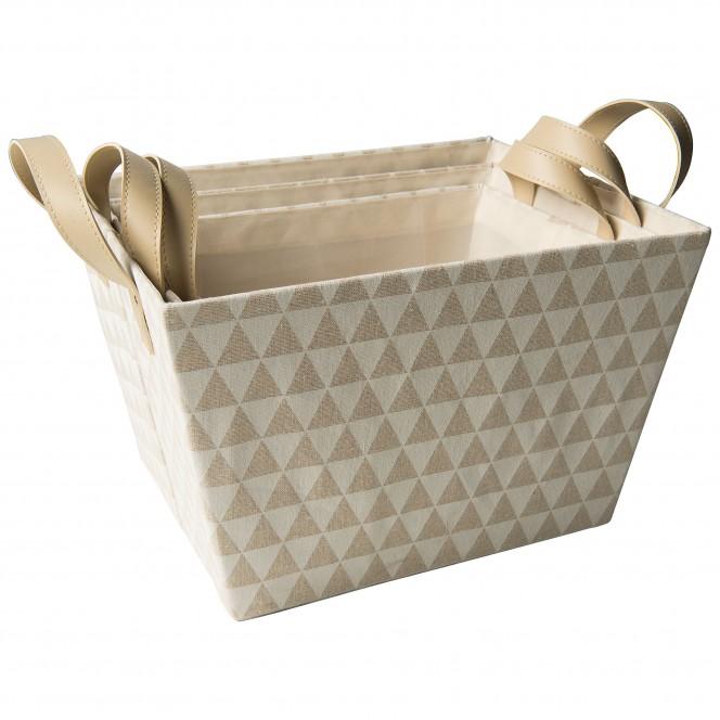 BasketDots-Korb-Beige-Set-per
