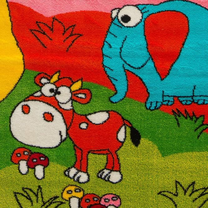 Minka-KinderTeppich-mehrfarbig-Multicolor-lup