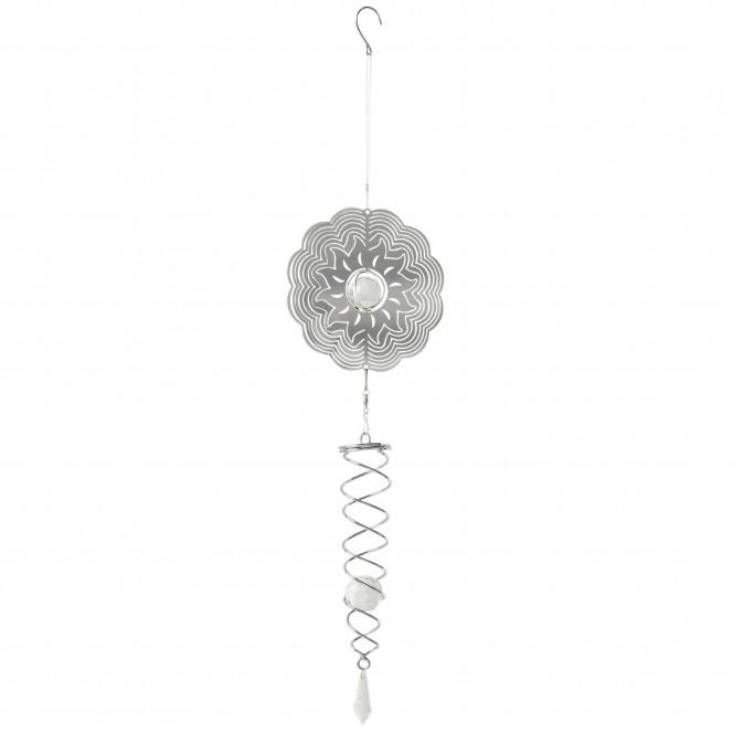 Blumenspirale-Girlande-Silber-65-per