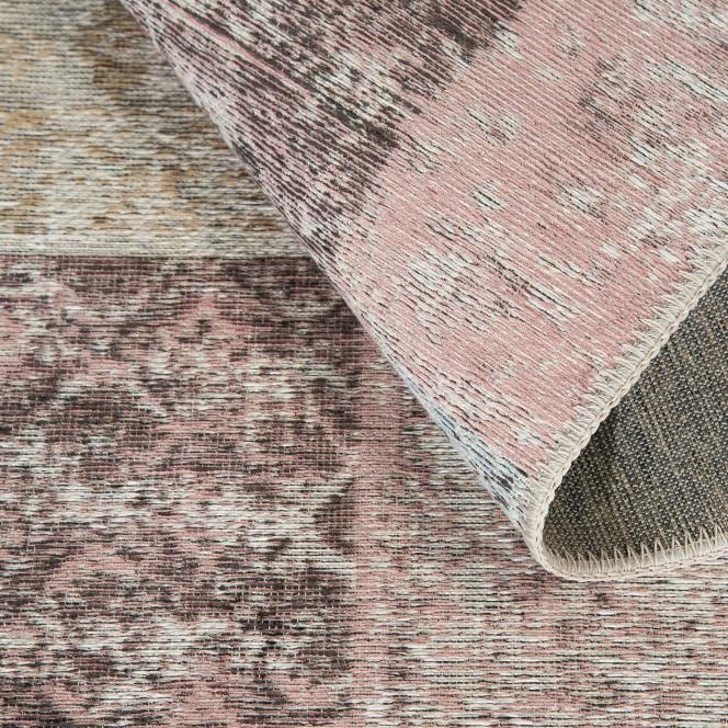 Doncaster-VintageTeppich-mehrfarbig-Grau-80x300-wel