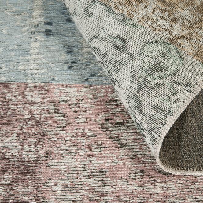 Doncaster-VintageTeppich-mehrfarbig-Grau-160x230-wel