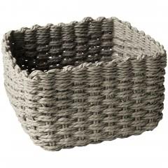 SquareBasket-Korb-Grau-20x20x12-per