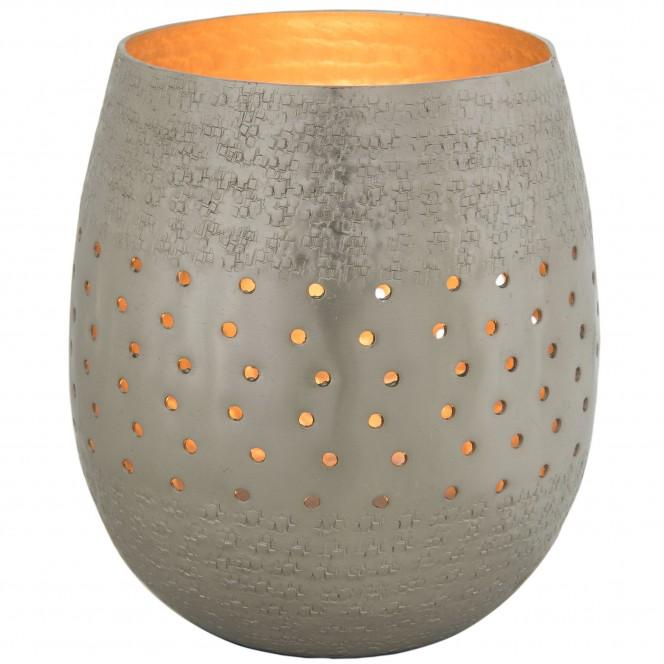 PolkaHoles-Windlicht-Silber-14x14x16-per2