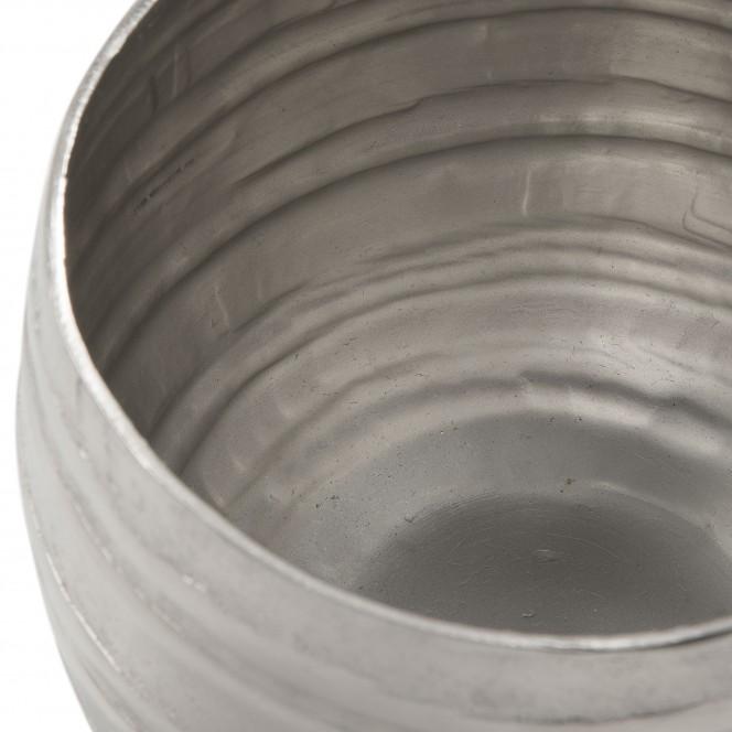 Charley-DekoVase-Silber-15x15x14-lup1