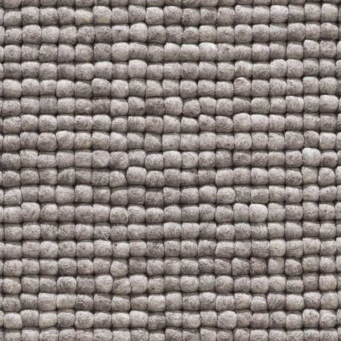 Smedby-FilzkugelTeppich-Grau-StoneGrey-70x100-lup