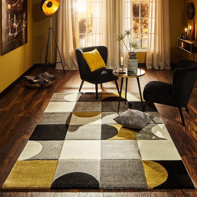 Nouvelle-Designerteppich-mehrfarbig-Gold-160x230-mil2