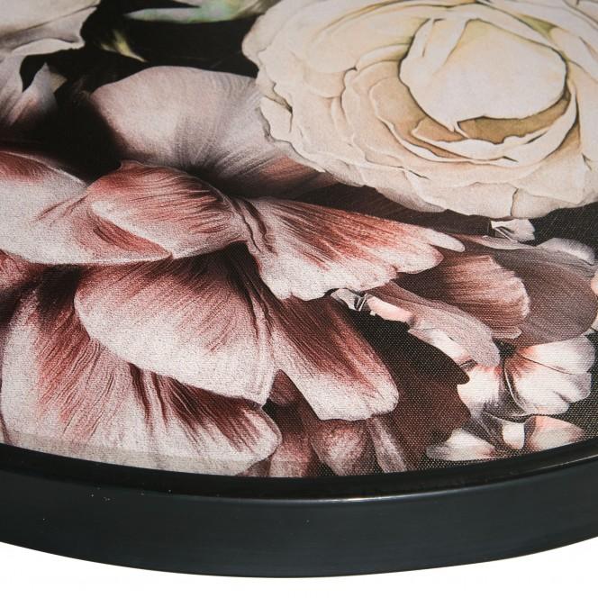 Flowermix-Druckgerahmt-mehrfarbig-Multicolor-60rund-lup2