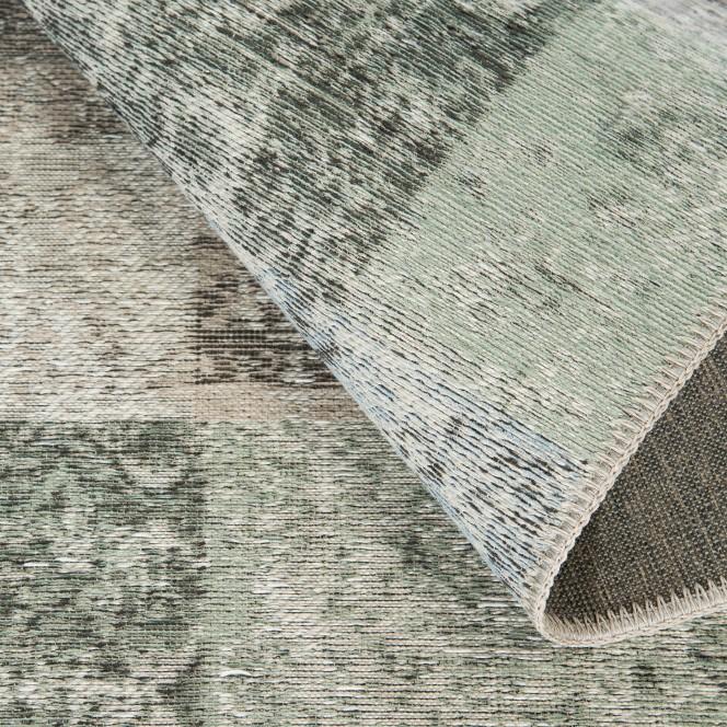 Doncaster-VintageTeppich-grau-Hellgrau-80x300-wel
