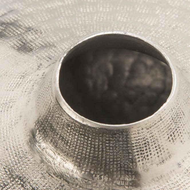 SilverNet-DekoVase-Silber-24x27-lup1