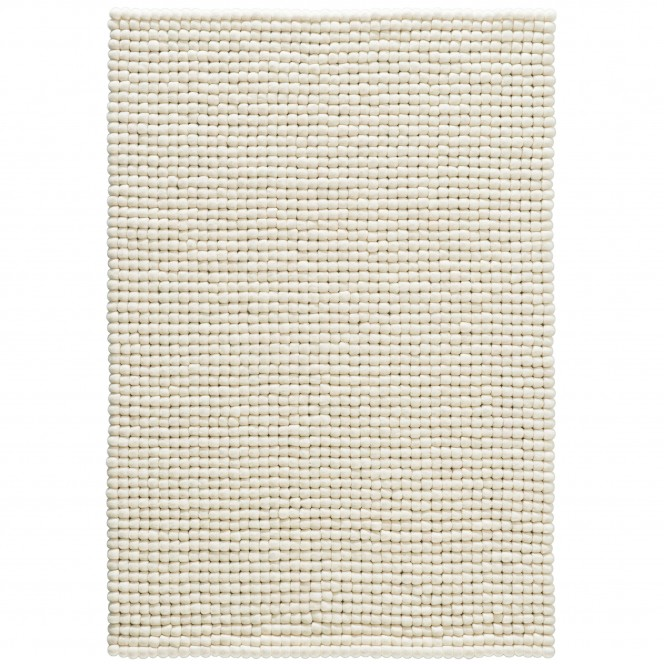 Smedby-FilzkugelTeppich-Weiss-White-90x130-pla