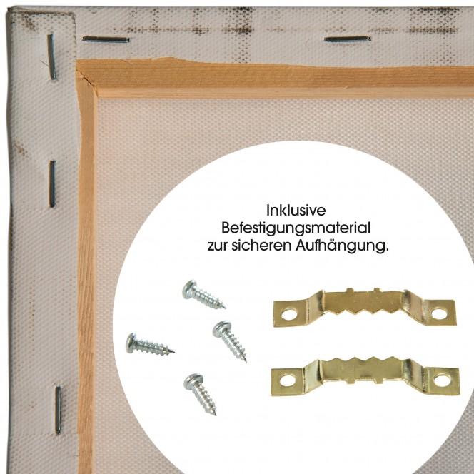 Einmaster-Leinwandbild-Hellgrau-30x90-ruk