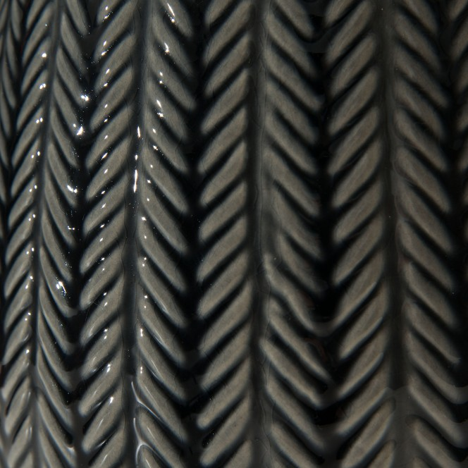 Jinan-DekoVase-grau-Dunkelblau-16x16x24-lup2