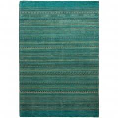 Besima-GabbehTeppich-gruen-Turquoise-200x300-pla