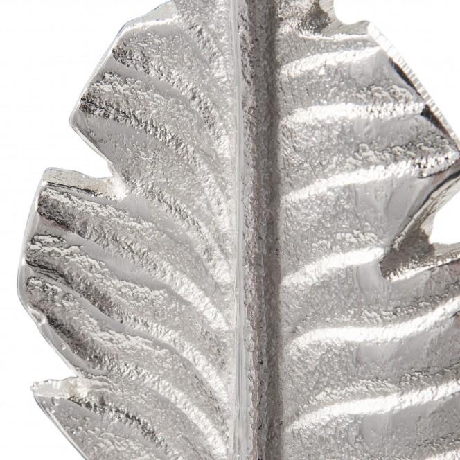 LeafSculpture-Objekt-Silber-10x11x56-lup1