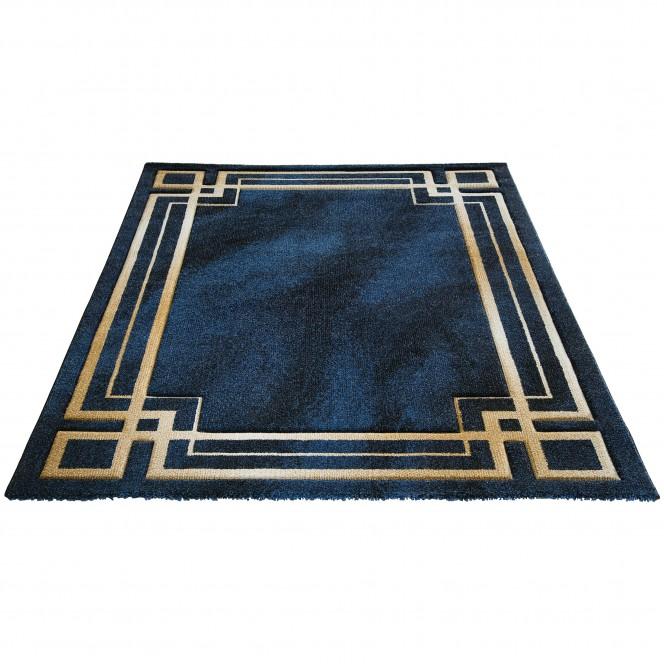 Caltagirone-Designerteppich-blau-Royalblau-160x230-fper