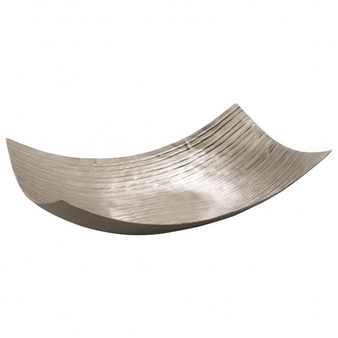 MattSilverLinear-DekoSchale-Silber-30x46eckig-per1