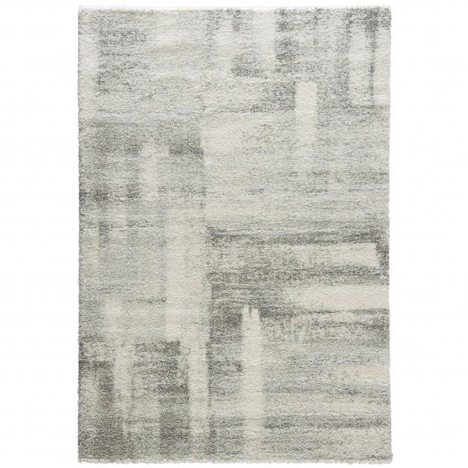 Monaci-DesignerTeppich-Hellgrau-Silber-160x230-pla