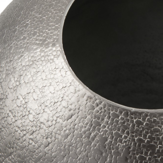 Ball-DekoVase-Silber-24x24x29-lup1