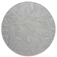 SpringLeaves-Outdoor-Teppich-Hellgrau-Silver-200rund-pla