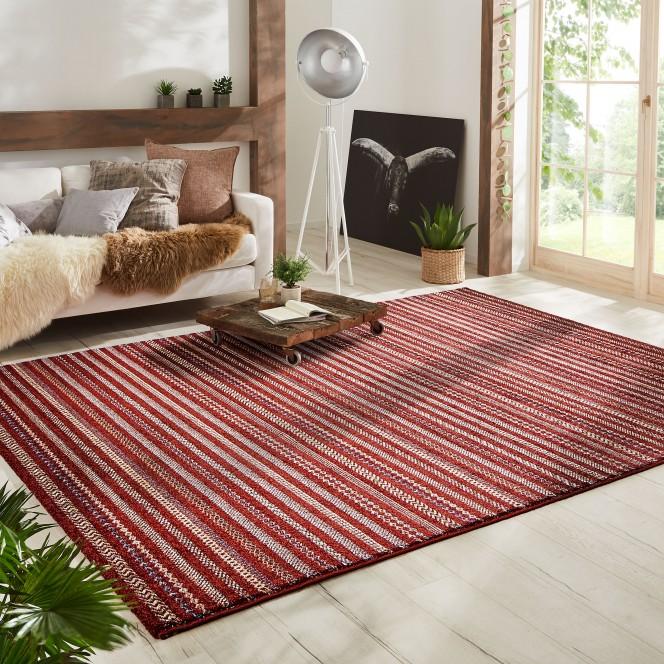 Prosilia-Designerteppich-rot-karmin-160x230-mil