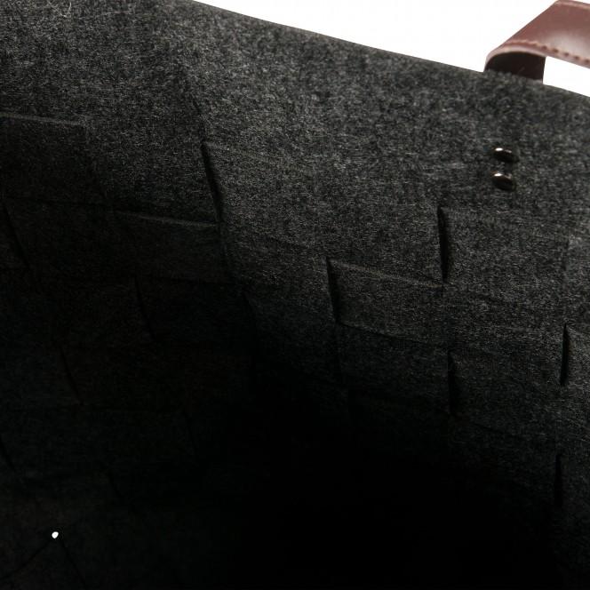 FilzkorbXL-Korb-Dunkelgrau-30x30x50-lup2