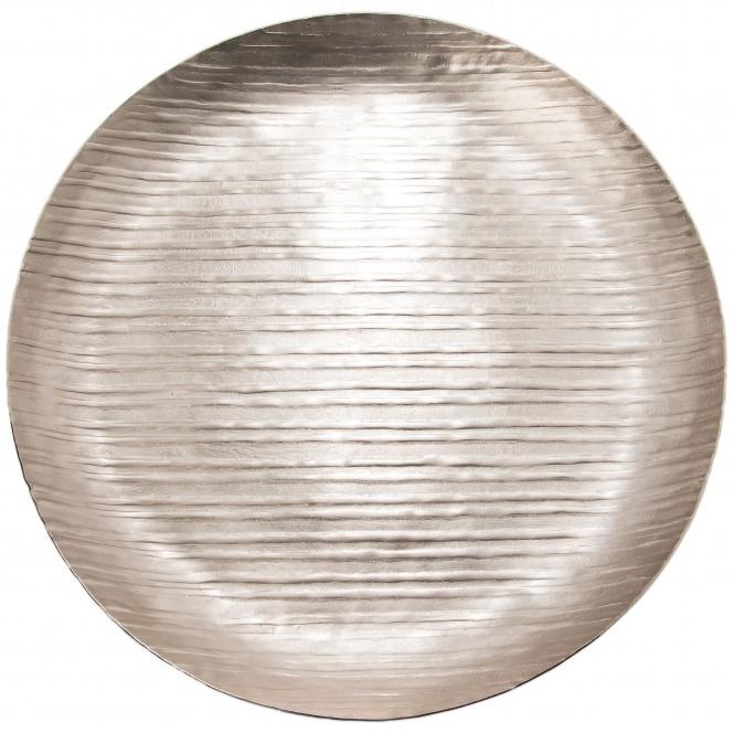 MattSilverLinear-DekoSchale-Silber-45rund-pla