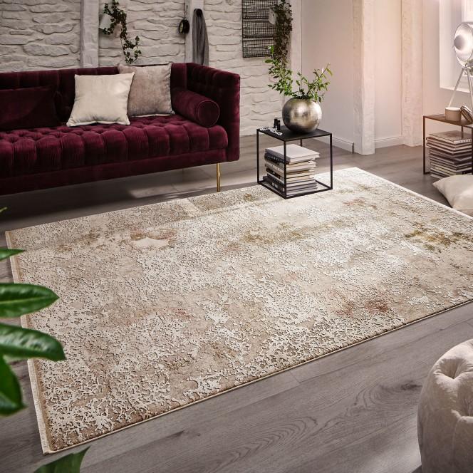 Romance-DesignerTeppich-Beige-160x230-mil