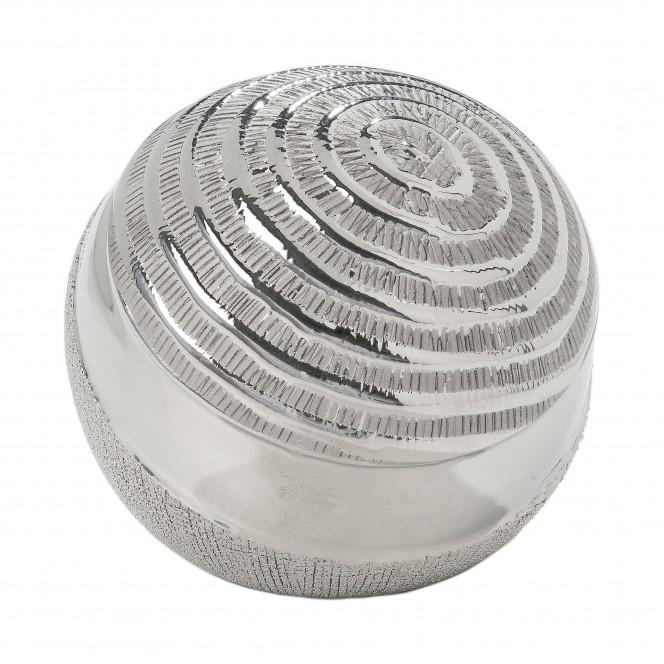 Hainan-DekoKugel-Silber-12x12x11,5-per