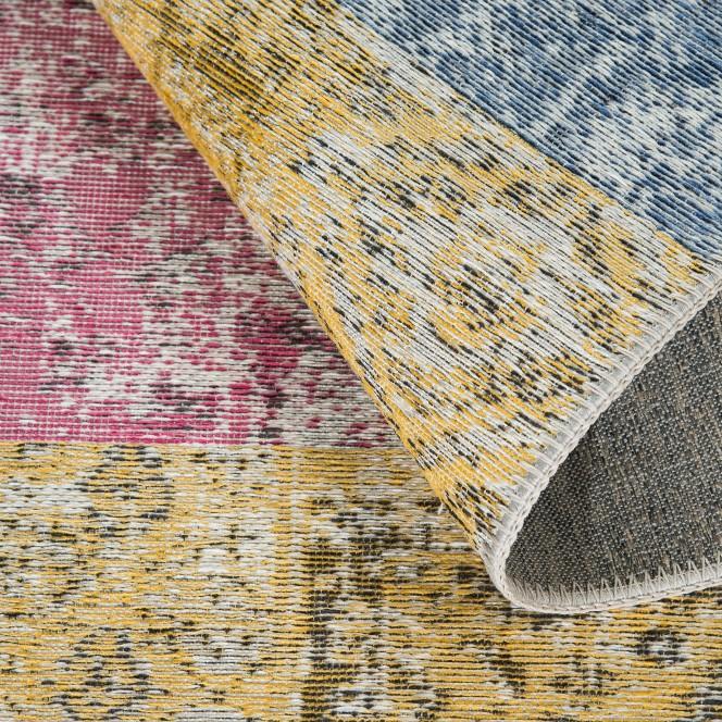 Doncaster-VintageTeppich-mehrfarbig-Multicolor-80x300-wel