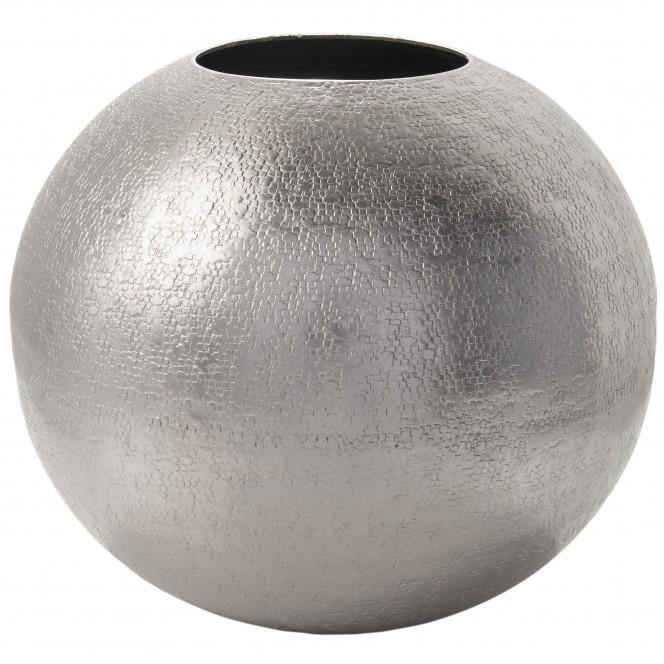 Ball-DekoVase-Silber-24x24x29-per
