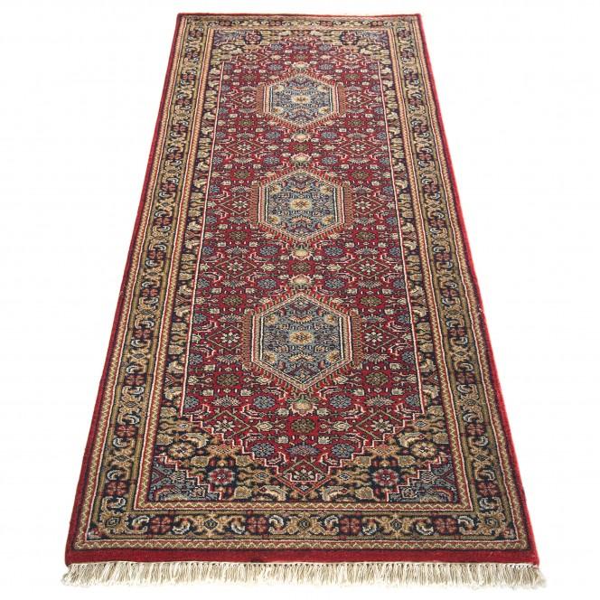 RawaraBidjar-Orientteppich-Rot-Red-80x250-fper