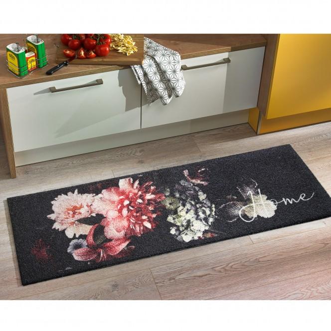 KitchenPlus-Fussmatte-Mehrfarbig-ClassicFlower-50x150-mil