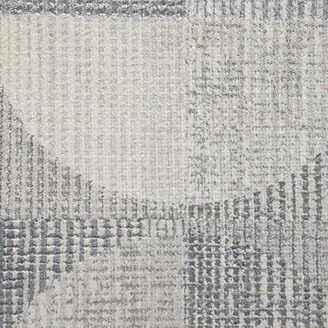 Dyke-DesignerTeppich-Grau-Silber-160x230-lup