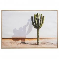 Kaktuswand-Leinwandbild-beige-WeissGruen-63x93-pla