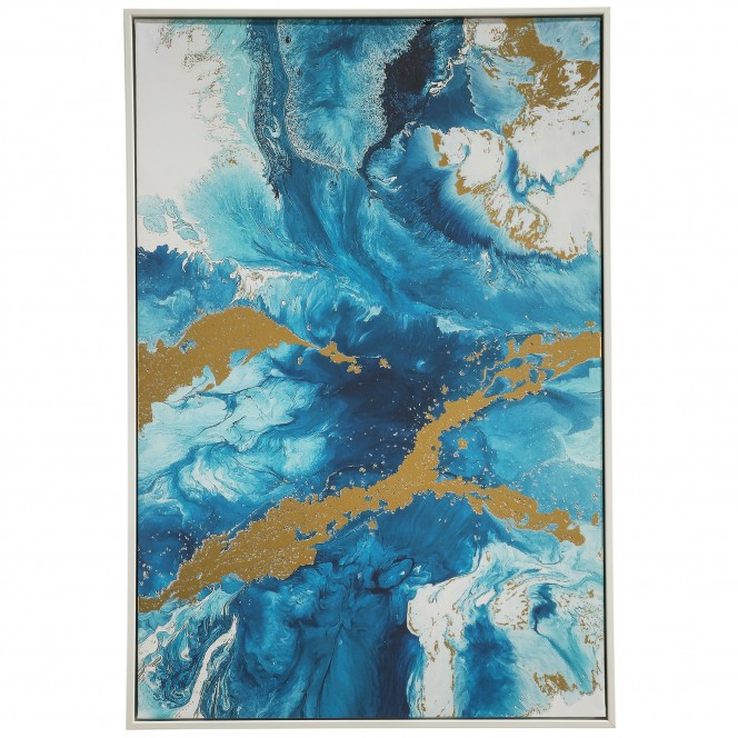 Gewitter-Leinwandbild-Blau-63x93-pla