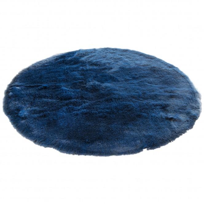 Fiaera-Kunstfellteppich-blau-midnightblue-rund120-fper